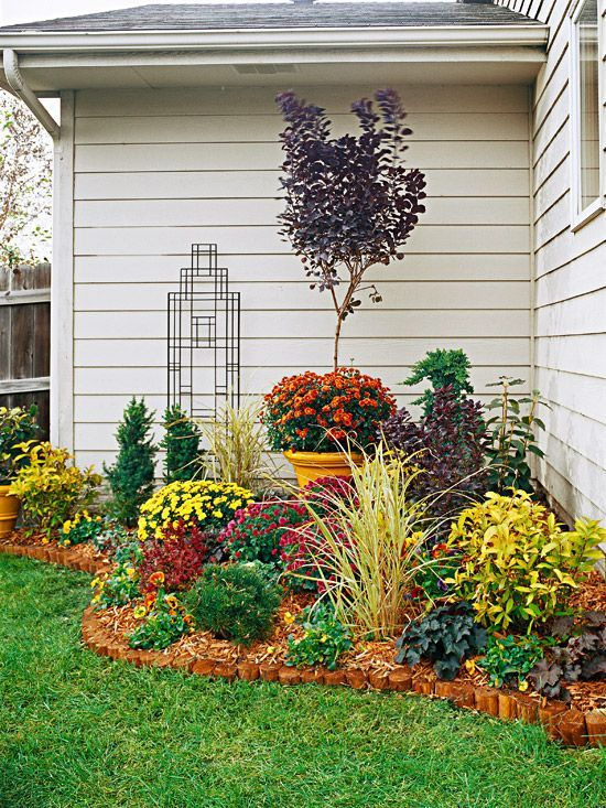 colourful pocket garden - Garden Ideas Front House