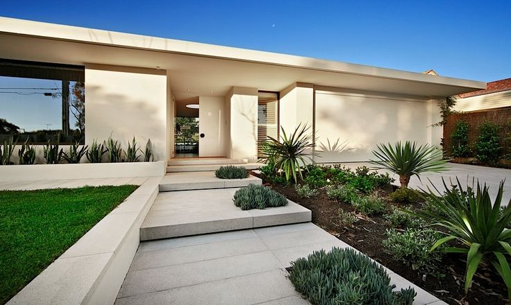 50 modern front yard designs and ideas renoguide for Modern front garden ideas australia