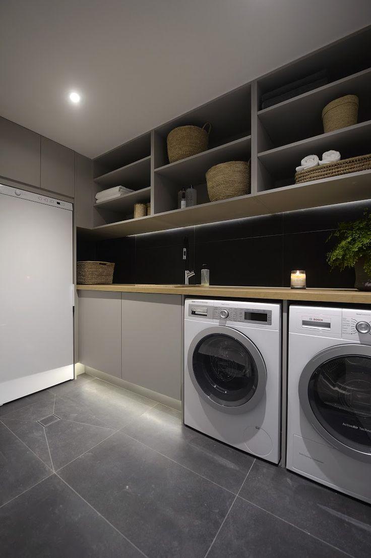 Brisbane laundry renovations laundry design ideas ine bathrooms - Cool Modern Laundry Room