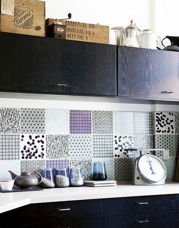 Patchwork Tile Splashback Part 39