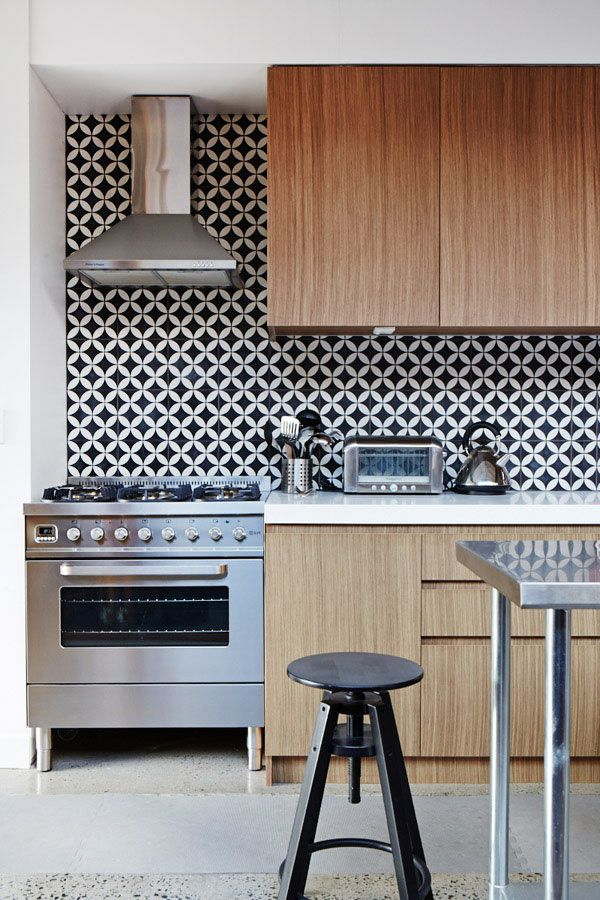geometric pattern splashback