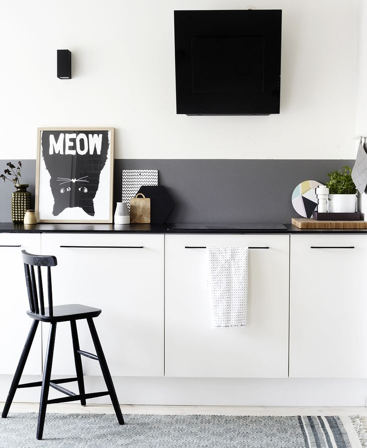grey charcoal splashback