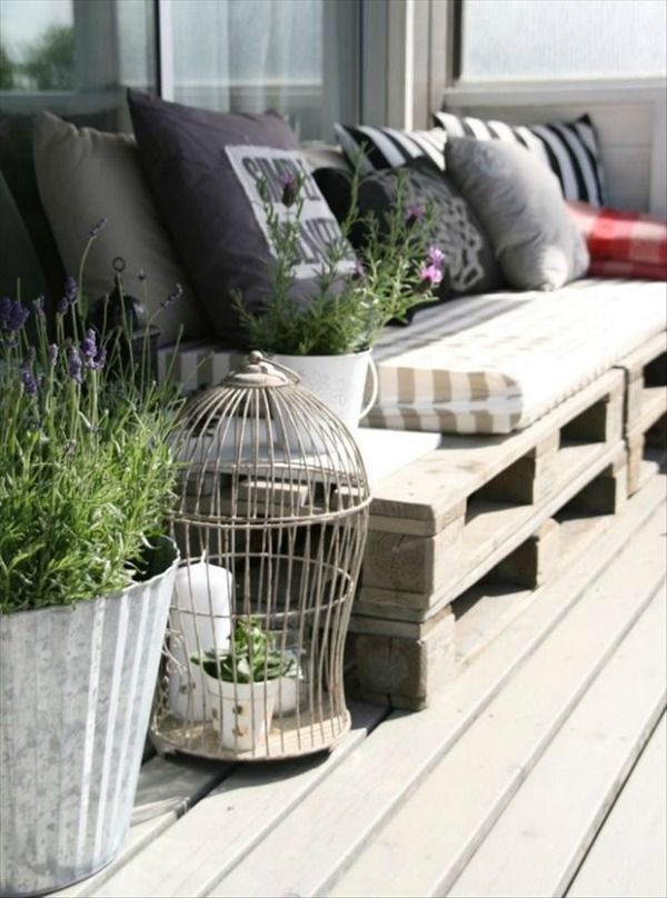 cosy pallet patio