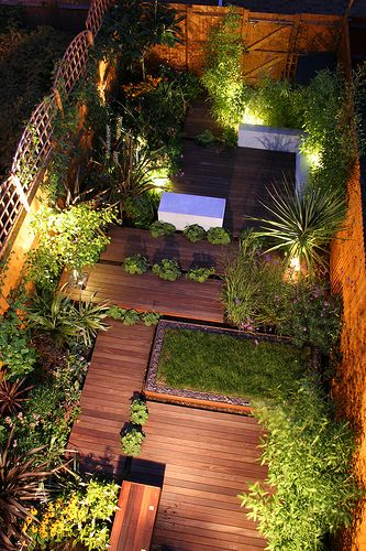 Modern Small Backyard Garden