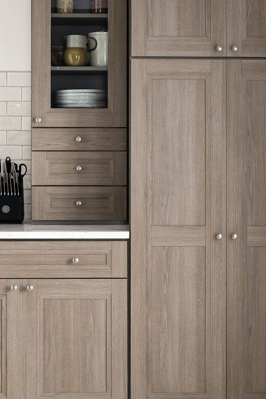 bare wood kitchen cabinets