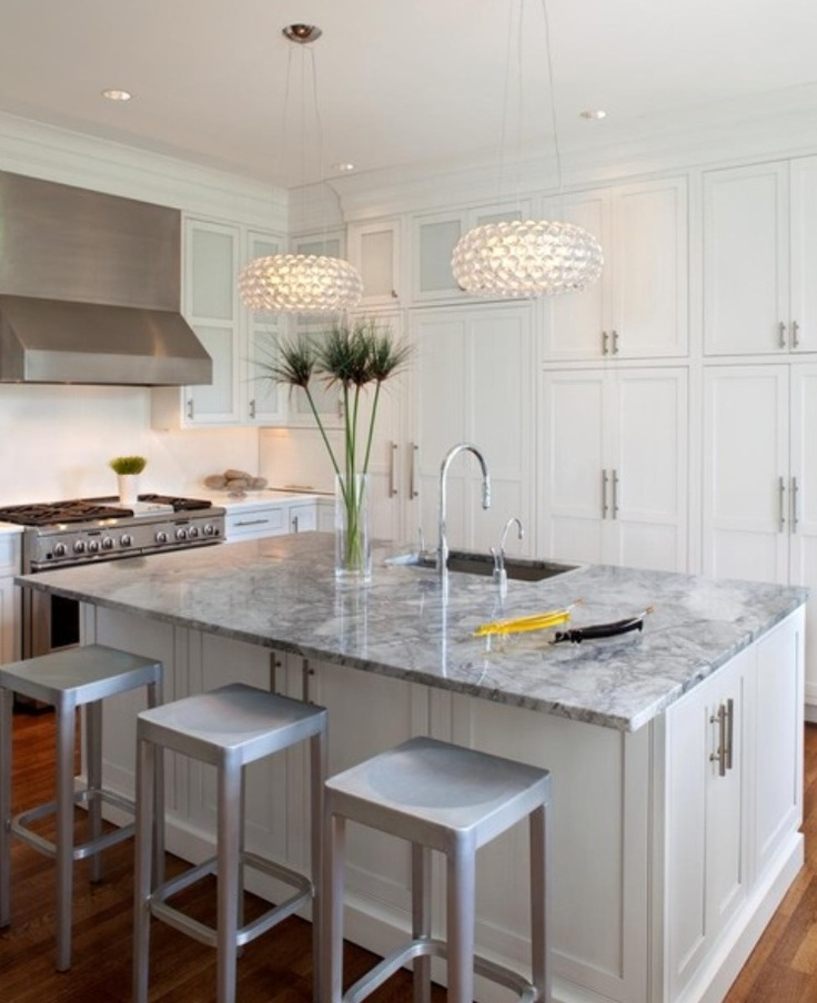 fabulous white granite kitchen island
