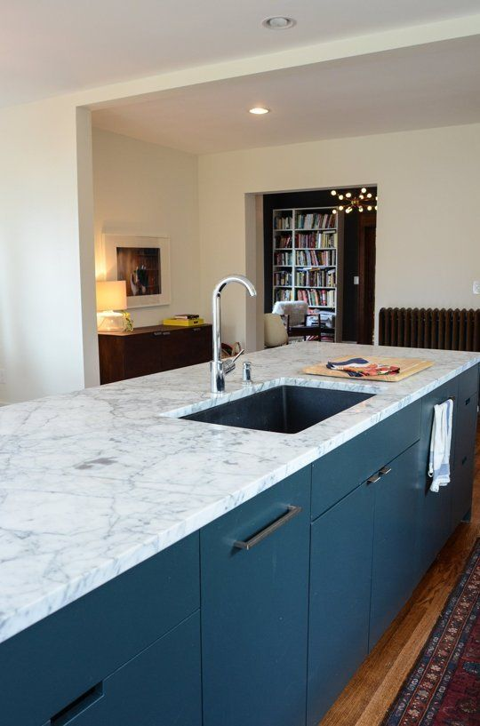 Carrera marble countertop