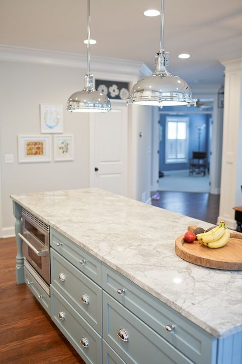 impressive white granite kitchen island countertop