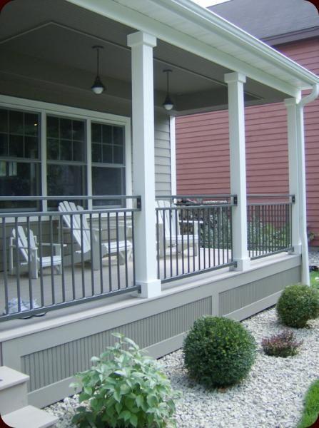 Cape Cod verandah style