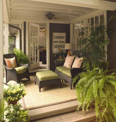 cosy tropical verandah