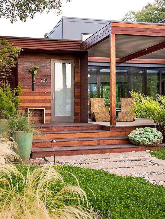 contemporary minimalist verandah