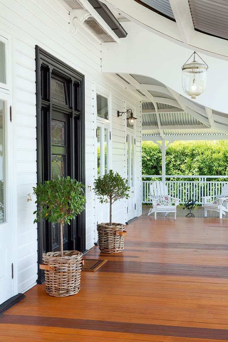 55 front verandah ideas and improvement designs renoguide for Front door queenslander