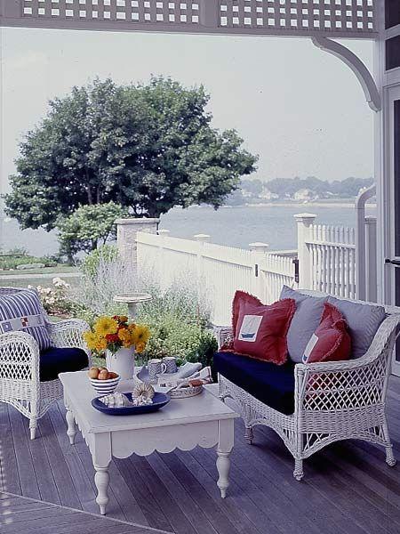 lavender verandah by the sea