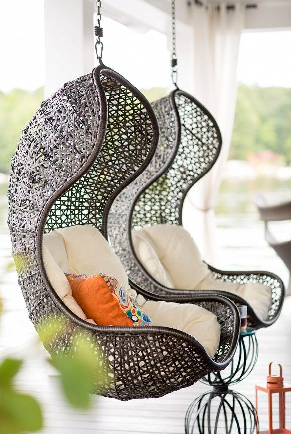 hanging lounge wicker chairs