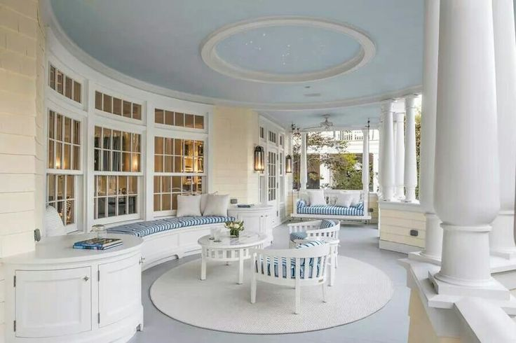 Grecian style verandah