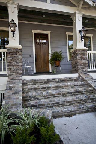 Brick Stone Verandah Steps