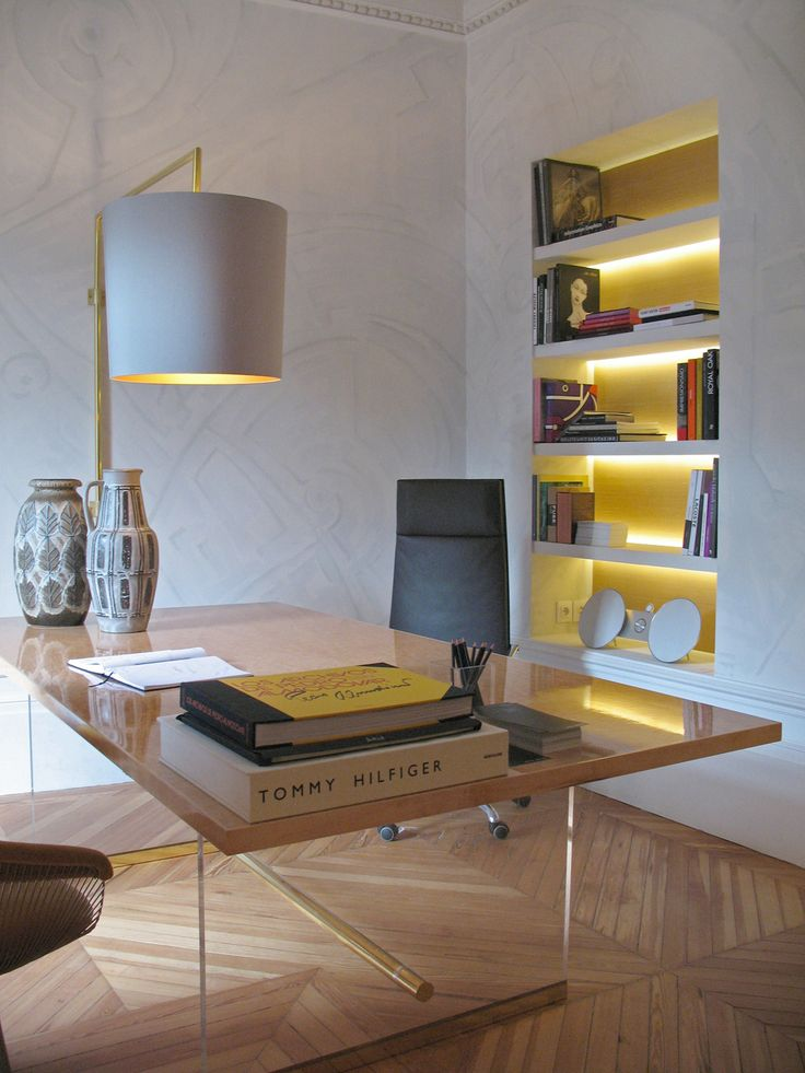 recessed wall bookcases