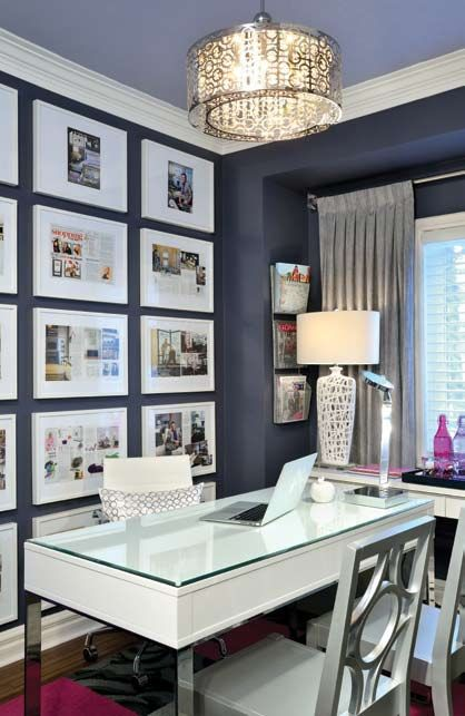 fashionable home office design