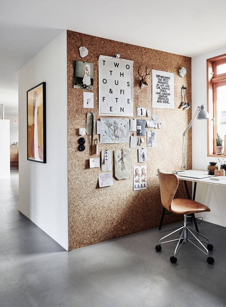 cork pin wall