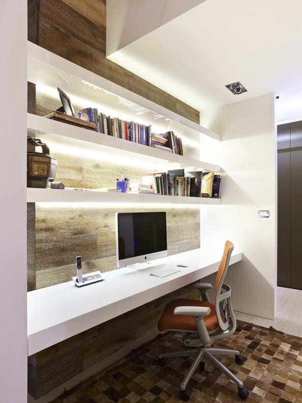 small space home office & 60 Inspired Home Office Design Ideas \u2014 RenoGuide - Australian ...