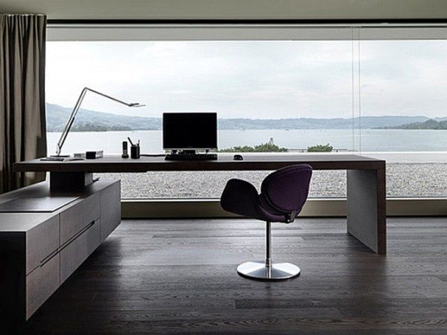 minimalist home office