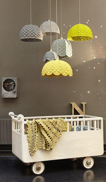 vintage rolling crib