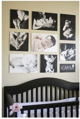 baby's first photo gallery