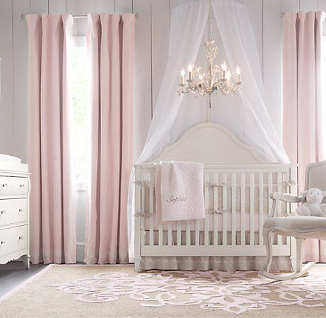 sweet princess themed nursery room