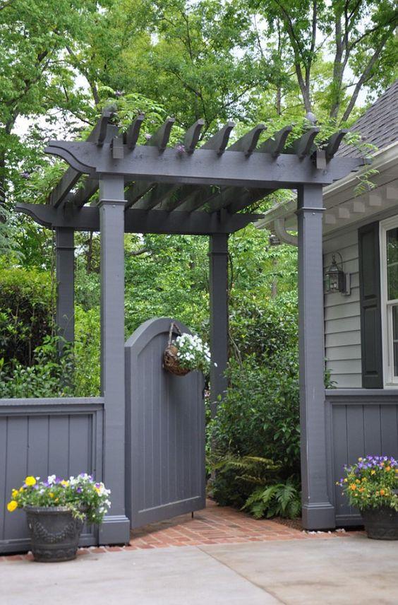 pics Top 50 Best Deck Gate Ideas – Backyard Designs