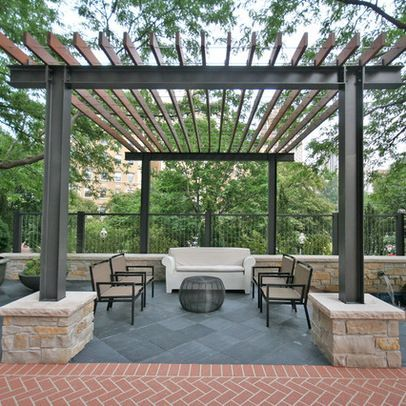 50 awesome pergola design ideas renoguide australian for Steel shade structure design