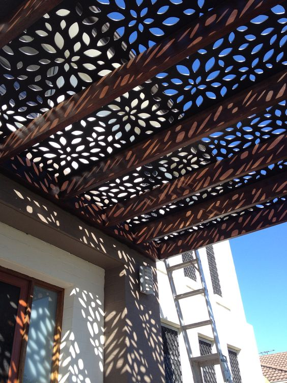 etched metal pergola shade - 50 Awesome Pergola Design Ideas — RenoGuide - Australian Renovation