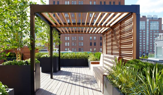 roof deck minimalist pergola - 50 Awesome Pergola Design Ideas — RenoGuide