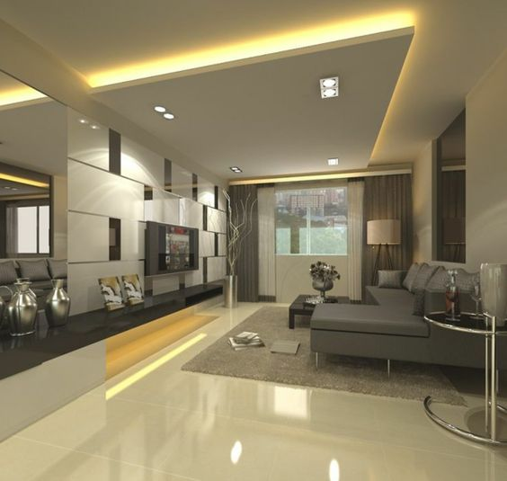 strategic ceiling lighting