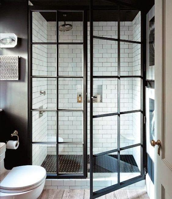 city scape bathroom