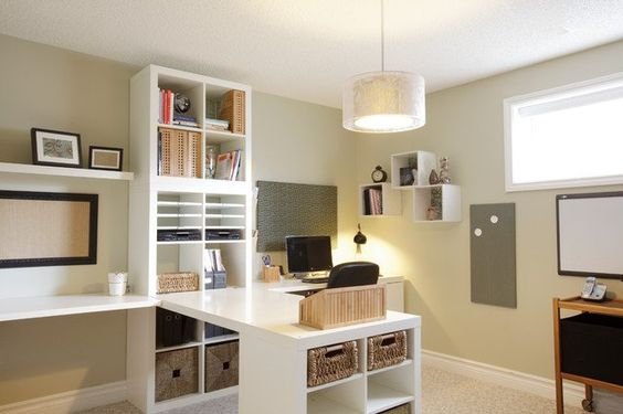 Home Office Ideas Pinterest