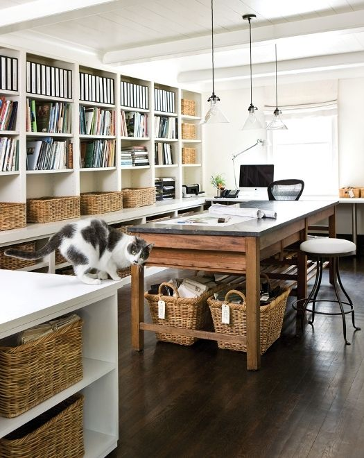 Home Office Ideas Grey