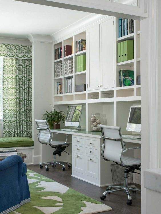 30 modern home office ideas and designs for the family - Creating a small home office ...