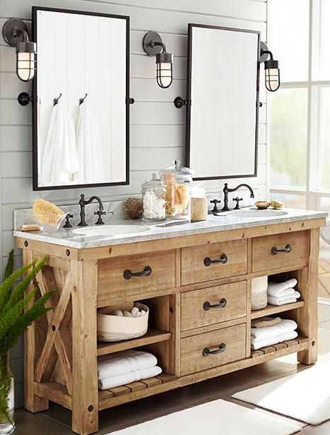 wooden bathroom sink cabinet