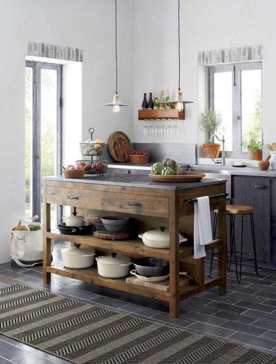classic spanish villa kitchen