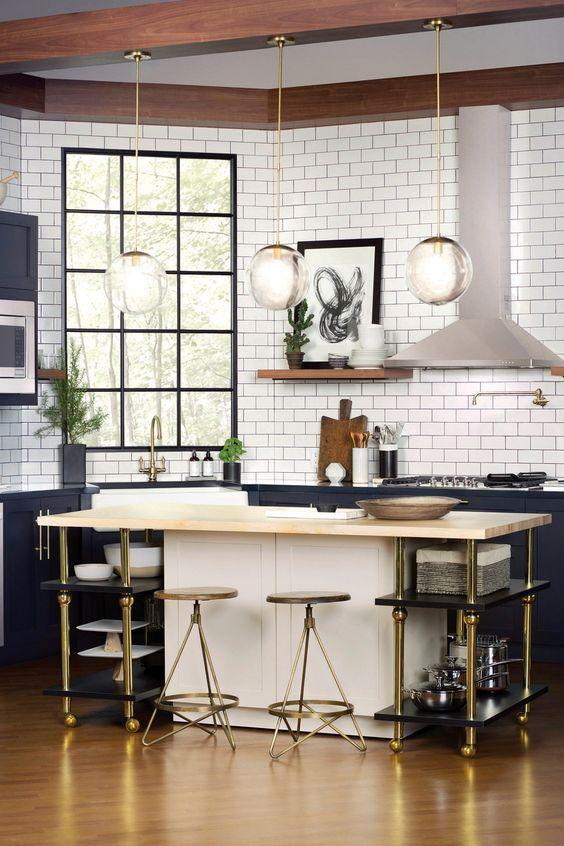 urbane apartment kitchen