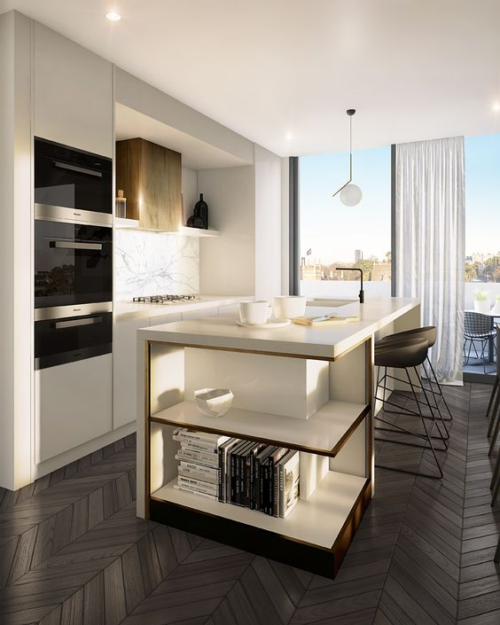 elegant and modern kitchen