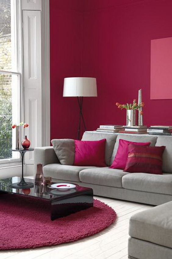 inspiring 30 elegant living room colour schemes #Paint #Color #Decor
