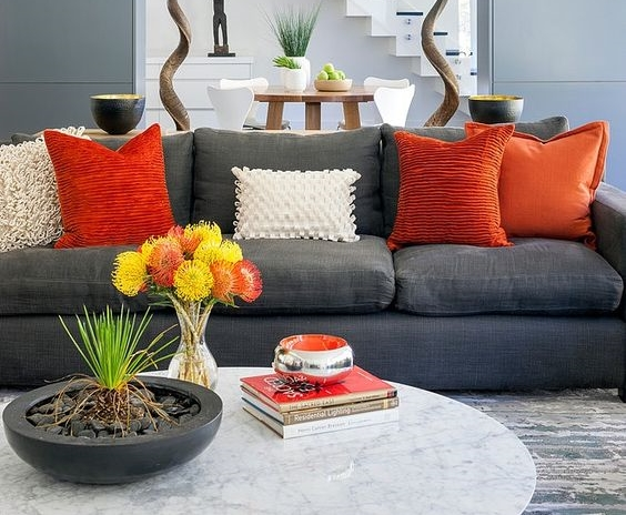 30 Elegant Living Room Colour Schemes — RenoGuide - Australian ...