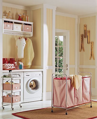 charming cottage style laundry room