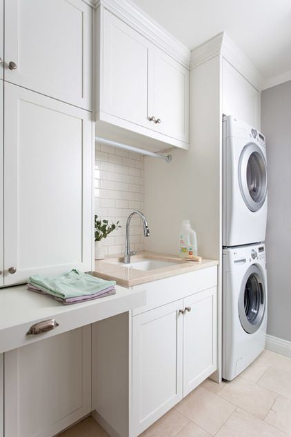 40 small laundry room ideas and designs renoguide for Utility room design