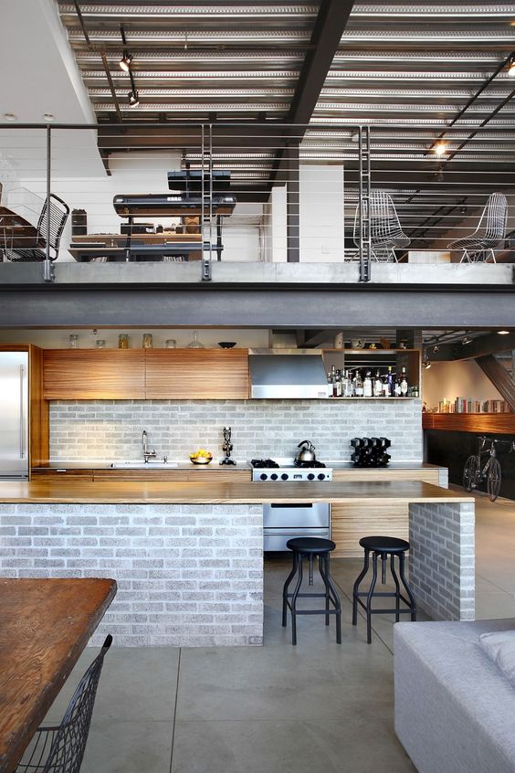 industrial apartment loft