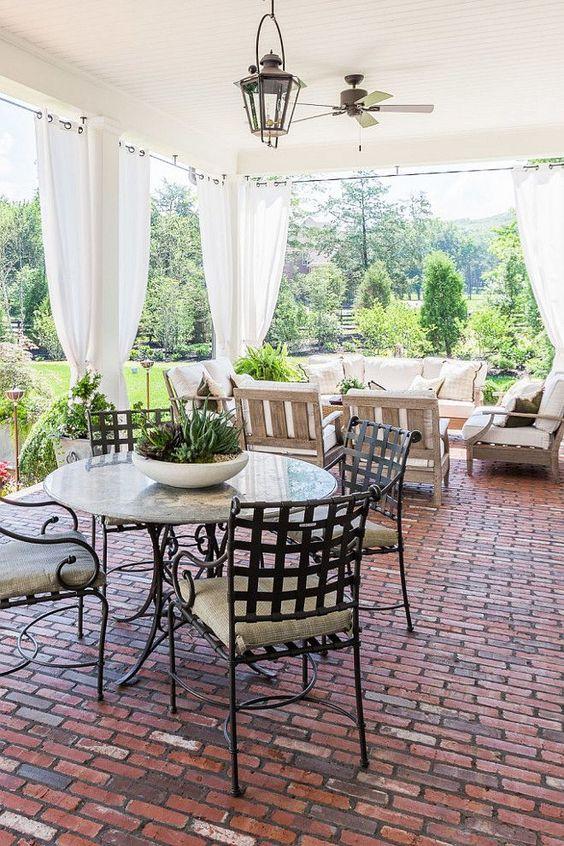 airy country verandah