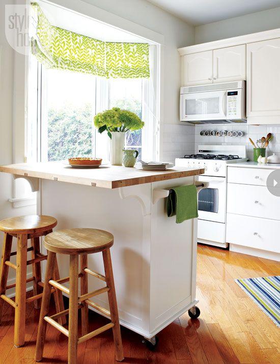 kitchen island with wheels