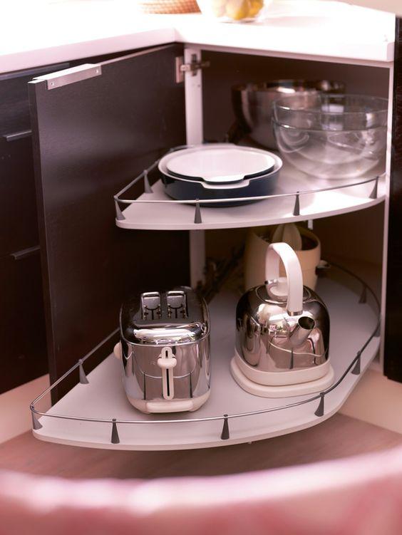 corner cabinet slider