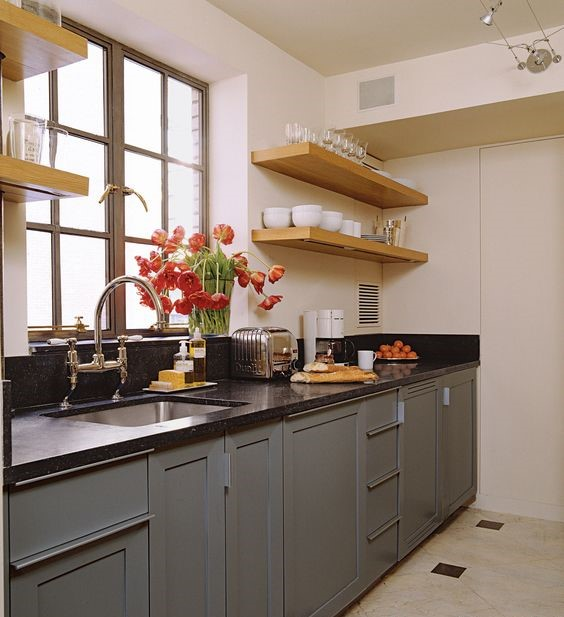 Lovely Small Classic Kitchen